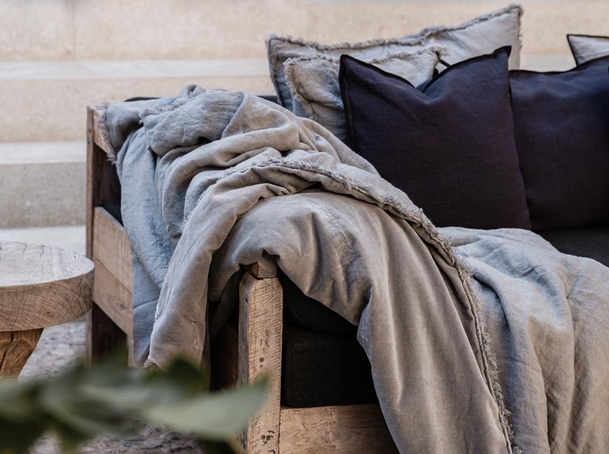 Bedspread - Stone Greige