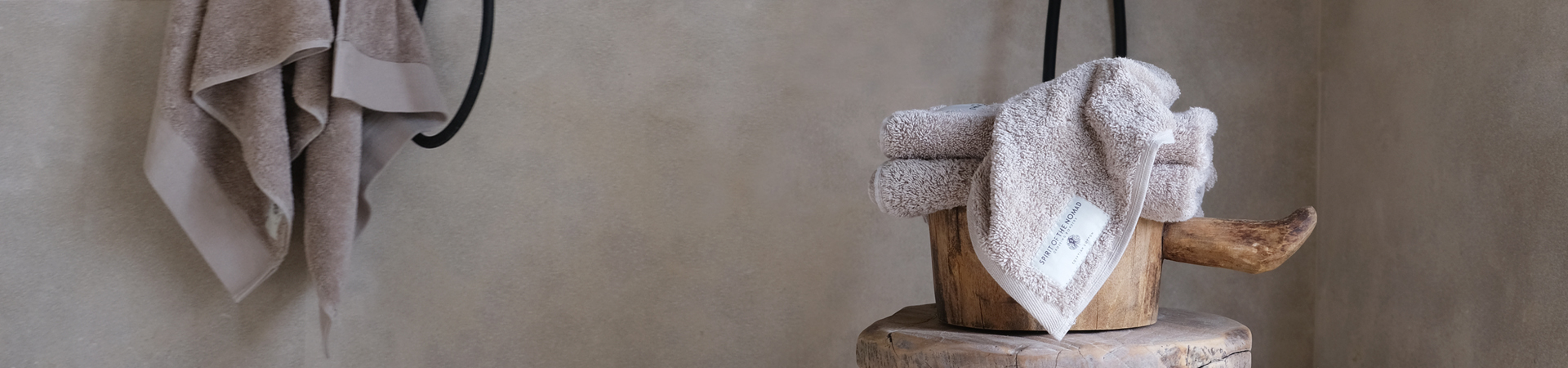 Spirit of the Nomad towel set